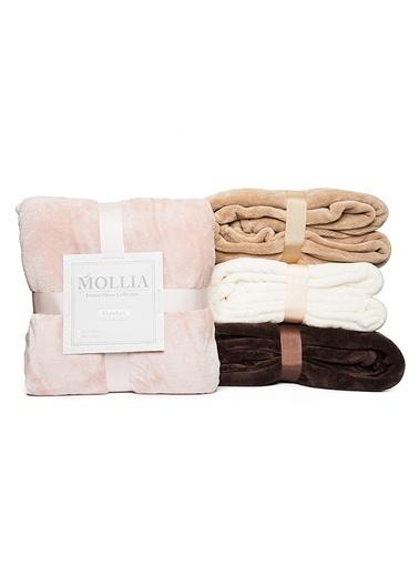 Mollia Soft Touch Tek Kişilik Battaniye Pembe